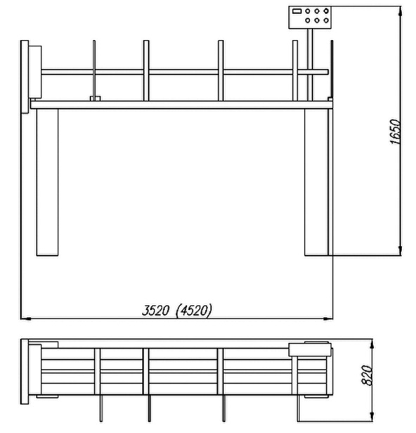 216WAF Rysunek Techniczny