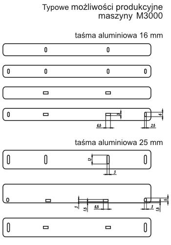 M3000 Rysunek Techniczny