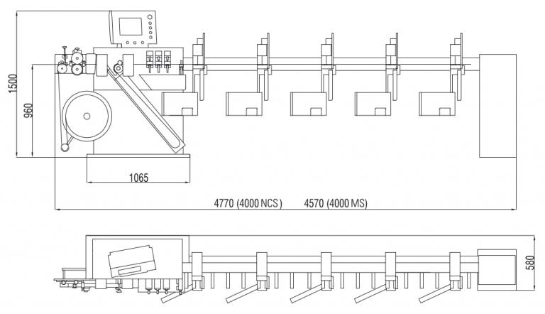 M4000 Rysunek Techniczny