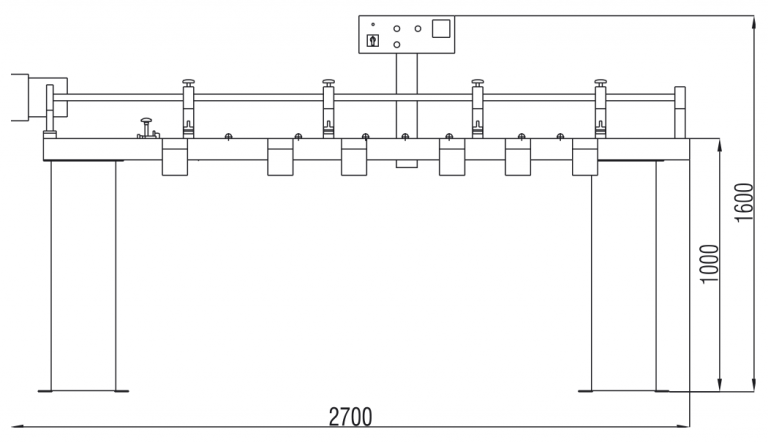 M400RD Rysunek Techniczny