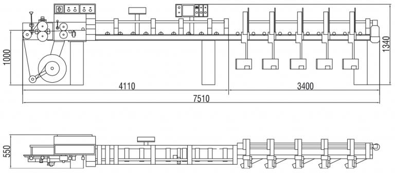 M420T Rysunek Techniczny