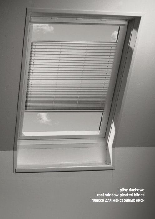Plisy Dachowe / Roof Window Pleated Blinds
