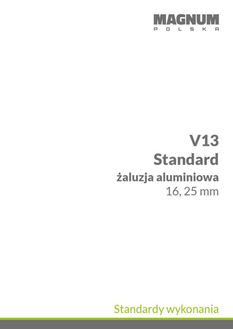 V13 Standardy Wykonania