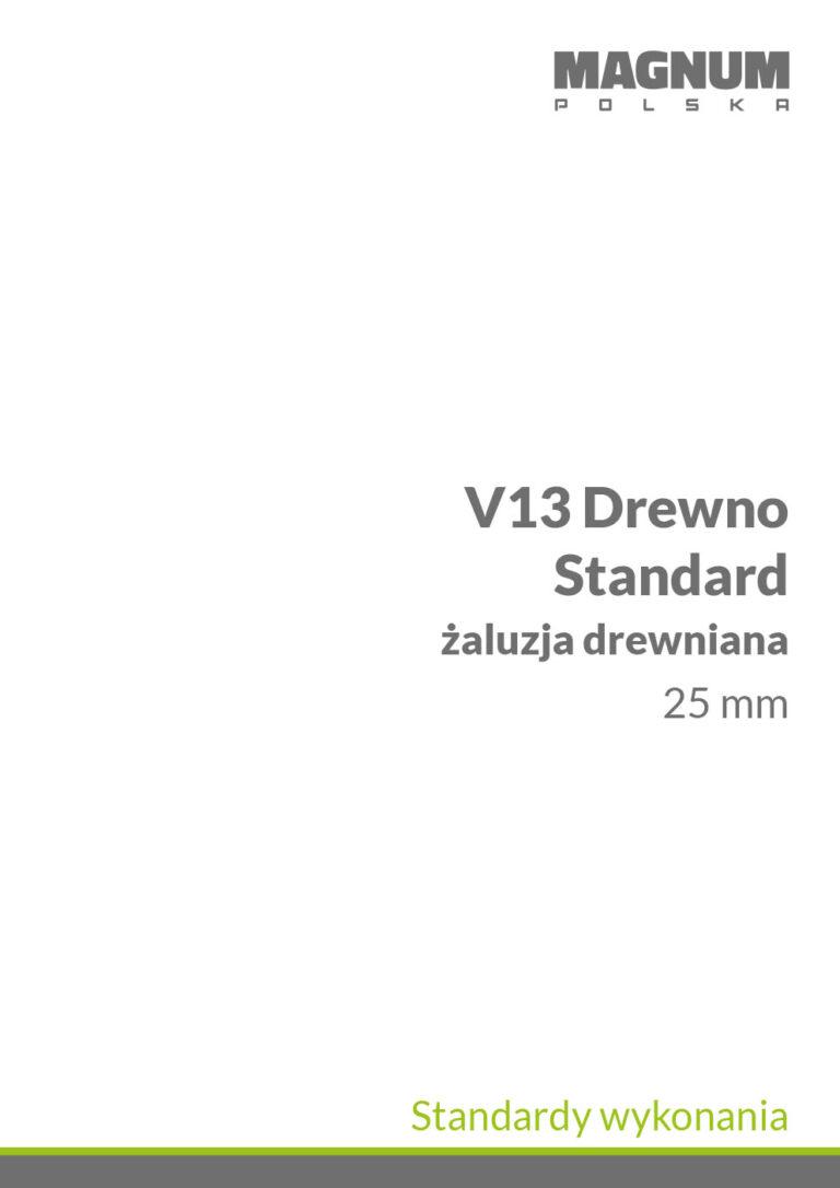 V13 Drewno Standardy Wykonania