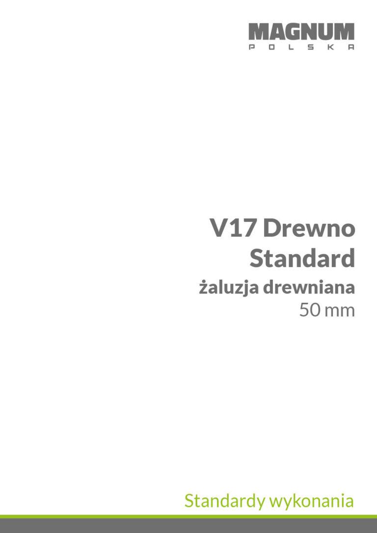 V17 Drewno Standardy Wykonania