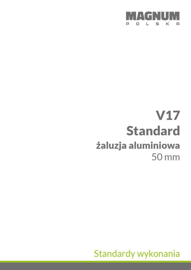 V17 Standardy wykonania